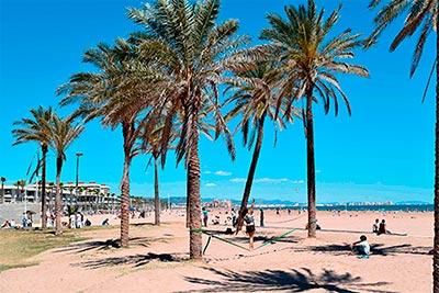 Things To Do In Valencia-Beach-malvarrosa