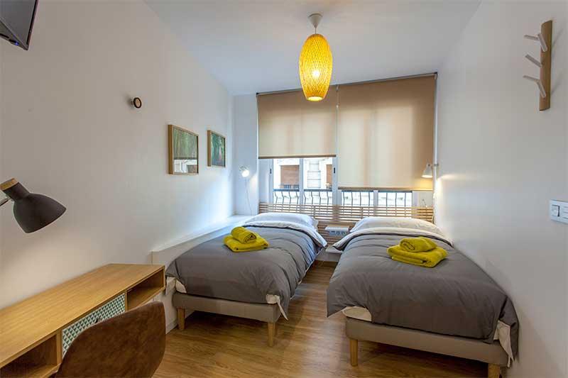 Habitacion 3 Ruzafa Valencia