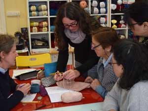 knitting holiday Valencia Ruzafa